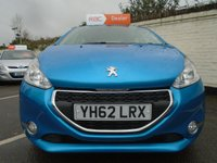 USED 2012 62 PEUGEOT 208 1.2 ACTIVE 5d 82 BHP GUARANTEED TO BEAT ANY 'WE BUY ANY CAR' VALUATION ON YOUR PART EXCHANGE