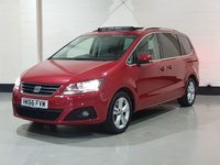 USED 2016 66 SEAT ALHAMBRA 2.0 TDI SE LUX 5d 184 BHP 1 Owner/Heated Leather/Panoramic Sun Roof/Camera/SatNav
