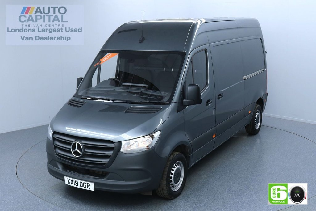 USED 2019 19 MERCEDES-BENZ SPRINTER 2.1 314 CDI 141 BHP MWB EURO 6 ENGINE AIR CON | KEYLESS START | VOICE CONTROL