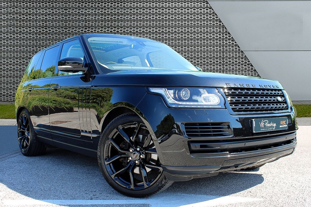 """USED 2016 65 LAND ROVER RANGE ROVER 3.0 TDV6 VOGUE SE 5d 255 BHP **STEALTH PACK/22"""" ALLOYS/EURO 6**"""