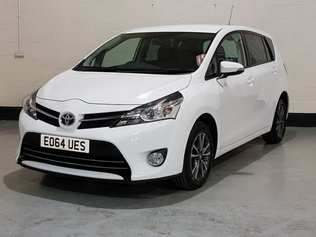 """USED 2014 64 TOYOTA VERSO 1.6 VALVEMATIC ICON 5d 131 BHP 1 Owner/Toyota History/Camera/Privacy Glass/16""""Alloys"""