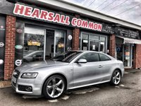 USED 2010 60 AUDI A5 2.0 TDI QUATTRO S LINE SPECIAL EDITION 2d 168 BHP