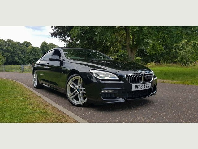2016 16 BMW 6 SERIES Gran Coupe 3.0 640d M Sport Gran Coupe Steptronic 4dr