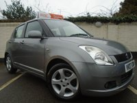 2007 SUZUKI SWIFT 1.5 GLX VVTS 5d AUTOMATIC 101 BHP £3499.00