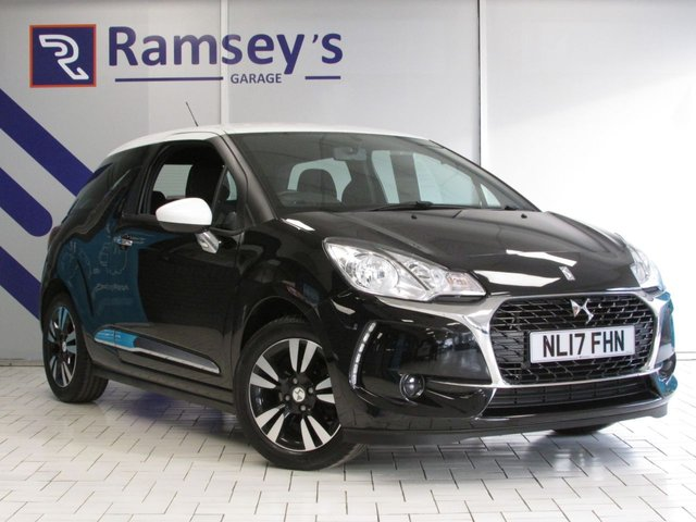 USED 2017 17 DS DS 3 1.2 PURETECH CHIC 3d 80 BHP