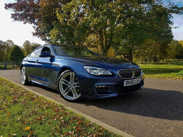 2016 66 BMW 6 SERIES Gran Coupe 3.0 640d M Sport Gran Coupe Auto (s/s) 4dr
