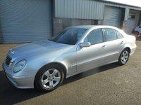2005 MERCEDES-BENZ E CLASS 2.1 E220 CDI AVANTGARDE 4d 150 BHP £2491.00