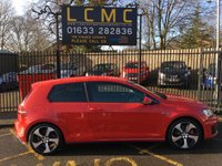 USED 2015 65 VOLKSWAGEN GOLF 2.0 GTI PERFORMANCE DSG 3d 226 BHP STUNNING PERFORMANCE RED, TARTAN CLOTH, 18 INCH POLISHED ALLOYS WHEELS, AIR CON, FRONT AND REAR PARKING SENSORS, DAB RADIO, HEATED SEATS, CRUISE CONTROL, BLUETOOTH, ZENON LIGHTS, PERFORMANCE PACK LOW MILES
