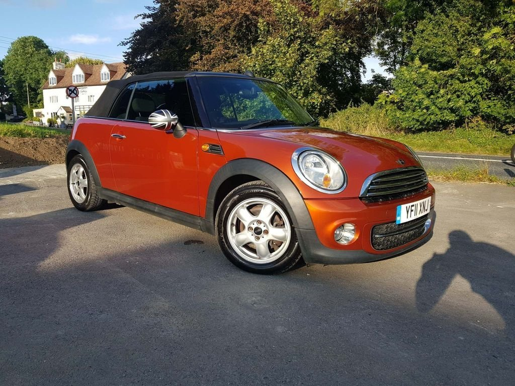 USED 2011 11 MINI CONVERTIBLE 1.6 Cooper D 2dr FINANCE*FREE 6 MONTHS WARRANTY