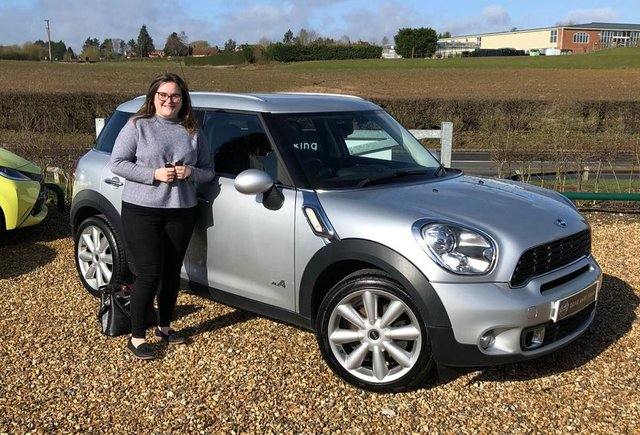 2013 13 MINI COUNTRYMAN 2.0 COOPER SD ALL4 5d 141 BHP