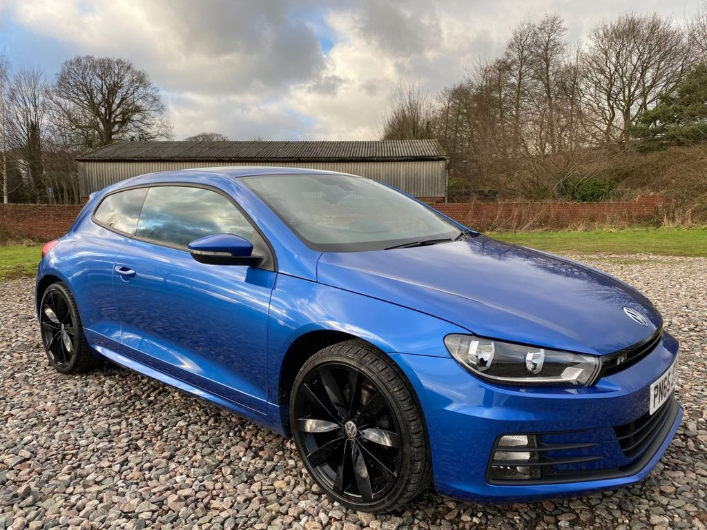 USED 2015 65 VOLKSWAGEN SCIROCCO 2.0 R LINE TDI BLUEMOTION TECHNOLOGY 2d 150 BHP