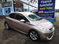2013 PEUGEOT 208 1.6 E-HDI ALLURE 3d 92 BHP, 2 Owners, Only 53000 miles £5495.00