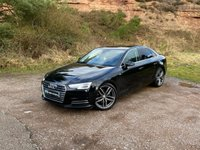 USED 2015 65 AUDI A4 2.0 TDI ULTRA SPORT 4d 188 BHP NEW RS4 ALLOYS AT EXTRA COST