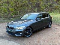 USED 2015 65 BMW 1 SERIES 2.0 118D M SPORT 5d 147 BHP SAT NAV FACE LIFT