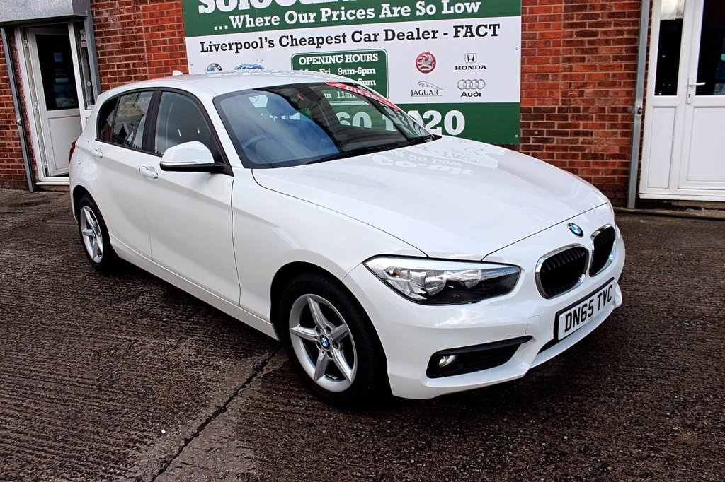 USED 2015 65 BMW 1 SERIES 1.5 116D SE 5d 114 BHP +ONE OWNER +FREE TAX +SERVICED
