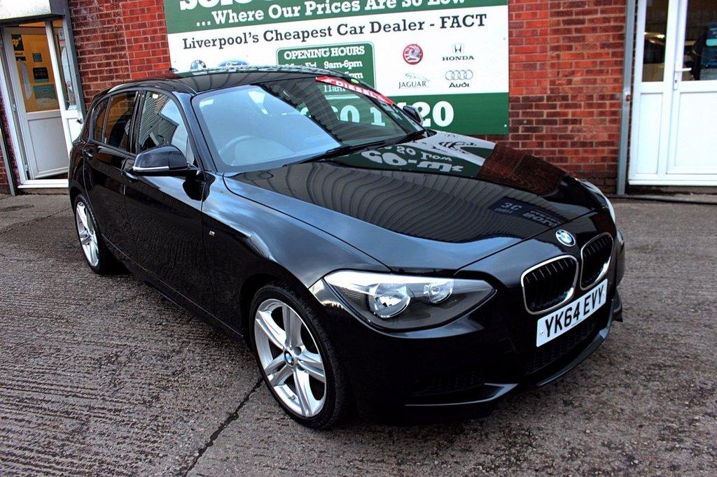 USED 2014 64 BMW 1 SERIES 2.0 116D M SPORT 5d 114 BHP +ONE OWNER +LOW TAX +SAT NAV.