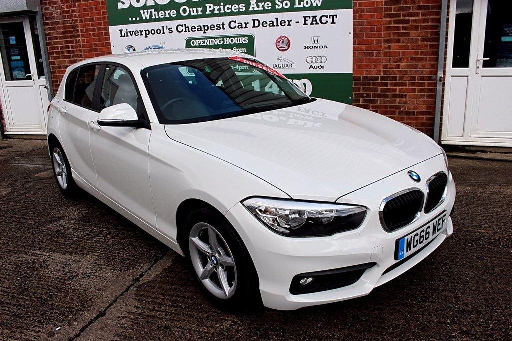 USED 2016 66 BMW 1 SERIES 1.5 116D ED PLUS 5d 114 BHP +ONE OWNER +FREE TAX +SAT NAV.
