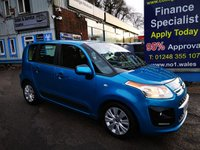2013 CITROEN C3 PICASSO 1.4 PICASSO VTR PLUS  5d 94 BHP, only 63000 miles, 2 Owners from new £4495.00