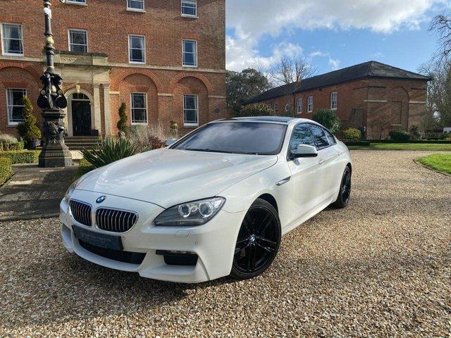 2013 E BMW 6 SERIES 3.0 640D M SPORT GRAN COUPE 4d 309 BHP