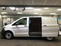 USED 2016 16 MERCEDES-BENZ VITO 2.1 114 BLUETEC 136 BHP light use only +VAT Automatic