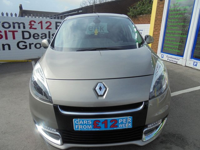 USED 2012 62 RENAULT SCENIC 1.5 DYNAMIQUE TOMTOM DCI 5d 110 BHP ** 01543 379066 ** JUST ARRIVED ** FULL SERVICE HISTORY **DIESEL