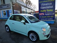2015 FIAT 500 1.2 POP STAR 3d 69 BHP, only 30000 miles £5995.00