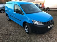 USED 2013 13 VOLKSWAGEN CADDY MAXI C20 TDI 1.6 C20 TDI STARTLINE 101 BHP  50000 MILES * AIR CONDITIONING * DIRECT BRITISH GAS
