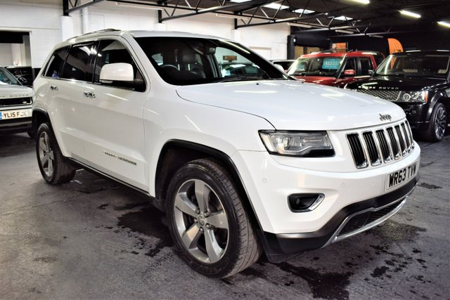 USED 2013 63 JEEP GRAND CHEROKEE 3.0 V6 CRD LIMITED 5d 247 BHP LOVELY CONDITION - JEEP S/H - NAV - GLASS PANROOF - HEATED SEATS - PRIVACY GLASS - HEATED SEATS