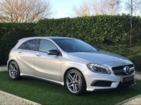 USED 2015 15 MERCEDES-BENZ A CLASS 2.0 A45 AMG 4MATIC 5d 360 BHP An Outstanding Example with an Impressive Specification and the Added Benefit of 4Matic 4 Wheel Drive. Presented in Silver with Exterior Night Pack (De-chrome) 19 Inch AMG Alloy Wheels, Panoramic Glass Sunroof and a Full Black Leather Interior with Carbon Fibre Inlays. Features Include Satellite Navigation, Bluetooth Connectivity, Front and Rear Park Distance Control with Reverse Camera, Heated Electric Adaptive AMG Sports Seats with Contrast Red Stitch & Piping, Leather / Alcantara Multi...
