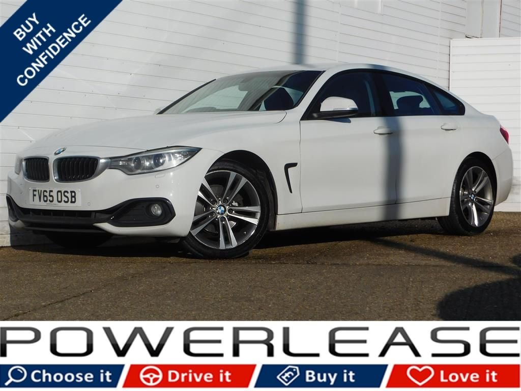 USED 2016 65 BMW 4 SERIES 2.0 420I SPORT GRAN COUPE 4d 181 BHP PRO NAV HEATED LEATHER SEATS