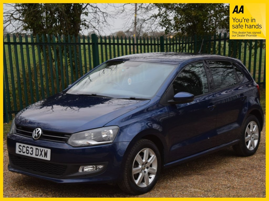 USED 2014 63 VOLKSWAGEN POLO 1.2 MATCH EDITION 5d 59 BHP **PARKING SENSORS, CRUISE CONTROL**