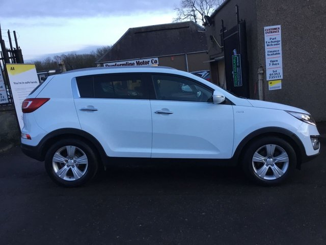 USED 2012 12 KIA SPORTAGE 2.0 CRDI KX-2 5d 134 BHP ++VERY LOW MILEAGE 4WD DIESEL AUTOMATIC ONLY 20K FROM NEW++