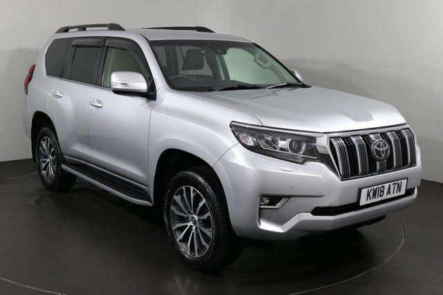 2018 18 TOYOTA LAND CRUISER 2.8 D-4D ICON 5d 175 BHP ULEZ EXEMPT