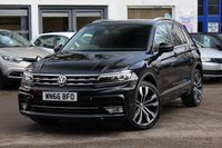 2016 VOLKSWAGEN TIGUAN R LINE 2.0 TDI BMT 4MOTION DSG 5d 148 BHP 4WD AUTOMATIC £22490.00