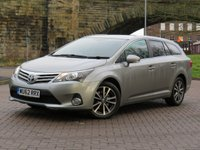 USED 2012 62 TOYOTA AVENSIS 2.2 TR D-4D  5d 150 BHP
