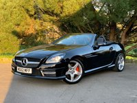 USED 2012 62 MERCEDES-BENZ SLK 2.1 SLK250 CDI BLUEEFFICIENCY AMG SPORT 2d 204 BHP AMG SPORT, NAVIGATION, DAB RADIO, BLUE TOOTH PHONE AND AUDIO, LEATHER INTERIOR WITH RED CONTRAST STITCHING AND MORE, GREAT EXAMPLE WITH GREAT PERFORMANCE