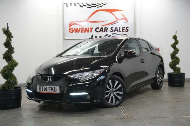 USED 2014 14 HONDA CIVIC 1.6 I-DTEC SE PLUS 5d 118 BHP **REVERSE CAMERA,, BLUETOOTH**