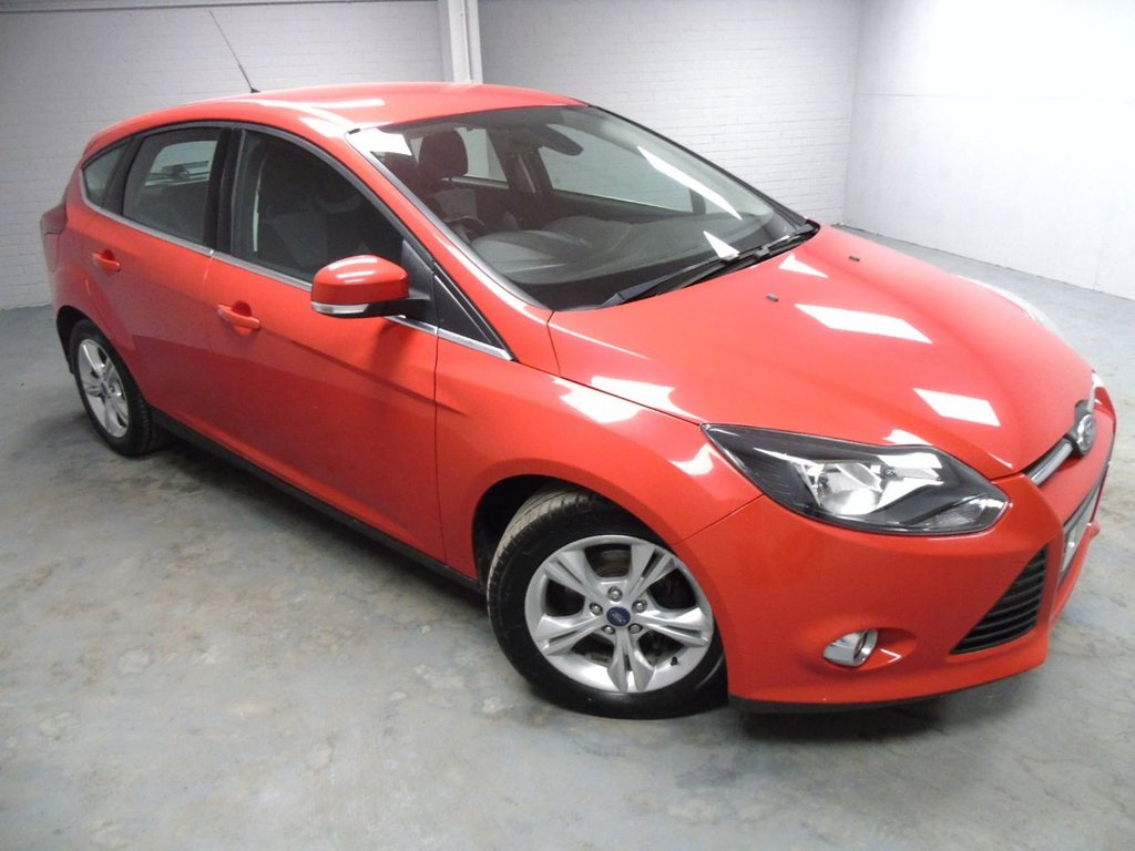 USED 2013 13 FORD FOCUS 1.6 ZETEC TDCI 5d 113 BHP £123 a month, T&Cs apply.