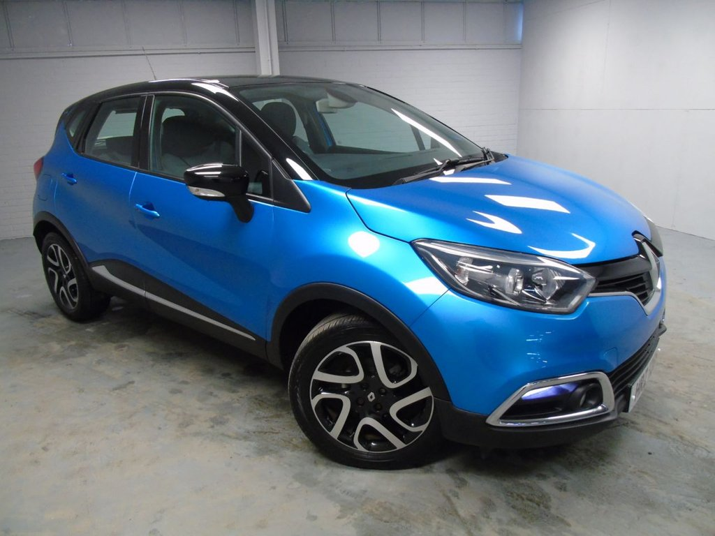USED 2014 RENAULT CAPTUR 0.9 DYNAMIQUE MEDIANAV ENERGY TCE S/S 5d 90 BHP £171 a month, T&Cs apply.
