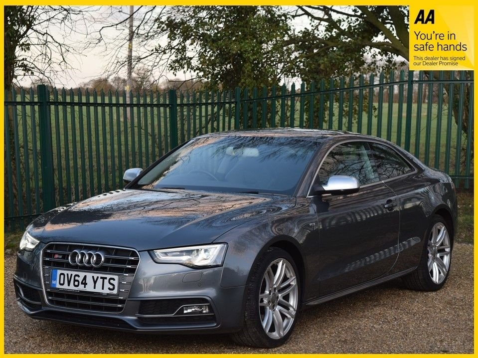USED 2015 64 AUDI A5 3.0 S5 TFSI QUATTRO S/S 2d 333 BHP **PARKING SENSORS, SPORTS SEATS, XENON LIGHTS**