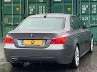 USED 2009 09 BMW 5 SERIES 4.8 550i M Sport 4dr 1Owner/LaneAssist/SportSeats