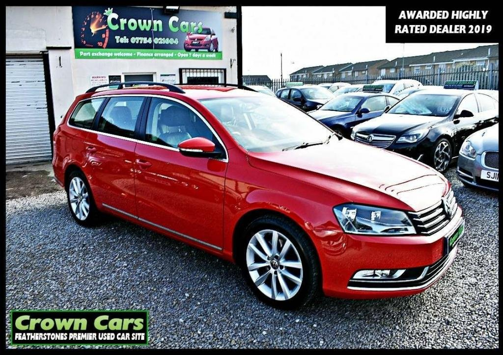 USED 2014 14 VOLKSWAGEN PASSAT 2.0 TDI BlueMotion Tech Executive (s/s) 5dr 3 MONTHS WARRANTY & PDI CHECKS