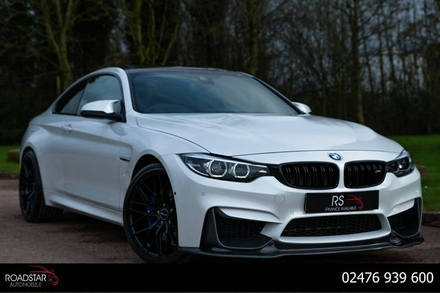 USED 2018 68 BMW M4 3.0 BiTurbo GPF DCT (s/s) 2dr NAV+HEAD UP DISPLAY+360 CAMERA