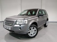 USED 2008 58 LAND ROVER FREELANDER 2.2 TD4 HSE 5d 159 BHP SAT-NAV, ELECTRIC MEMORY SEATS, HEATED SEATS, FULL LEATHER, AUTO LIGHTS, MULTI FUNCTION WHEEL, TERRAIN RESPONSE, HILL DECENT CONTROL, CLIMATE CONTROL, HEATED WINSCREEN, AUX, ALPINE SPEAKERS, PARKING SENSORS.