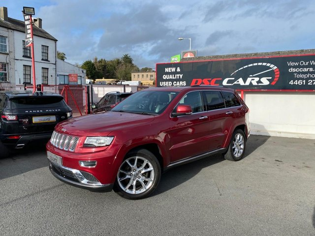 2016 JEEP GRAND CHEROKEE 3.0 V6 CRD SUMMIT 5d 247 BHP