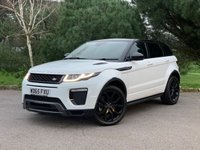 USED 2015 65 LAND ROVER RANGE ROVER EVOQUE 2.0 TD4 HSE DYNAMIC 5d 177 BHP NEW SHAPE LOW MILEAGE HSE DYNAMIC IN WHITE WITH BLACK HEATED LEATHER FSH