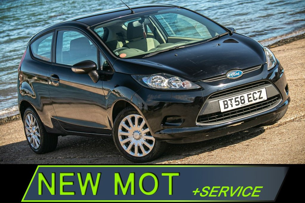 USED 2009 58 FORD FIESTA 1.2 STYLE 3d 81 BHP [NEW MOT+SERVICE] SMALL 1.2 ENGINE-CHEAP ON FUEL, TAX, INSURANCE. NEW MOT+SERVICE