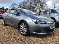 2012 VAUXHALL ASTRA 1.4 GTC SRI S/S 3d 138 BHP £4999.00