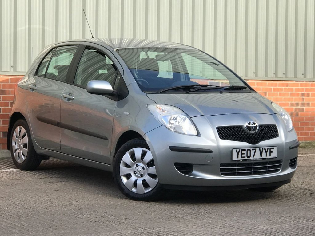 USED 2007 07 TOYOTA YARIS 1.0 T3 VVT-I 5d 69 BHP FANTASTIC CONDITION AND IDEAL FIRST CAR