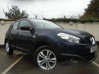 2012 NISSAN QASHQAI 1.6 ACENTA IS DCIS/S 5d 130 BHP £5999.00